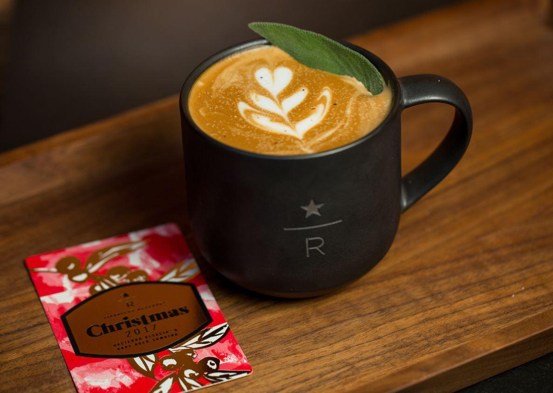 Juniper Latte debuts at Starbucks Roastery, Reserve bars