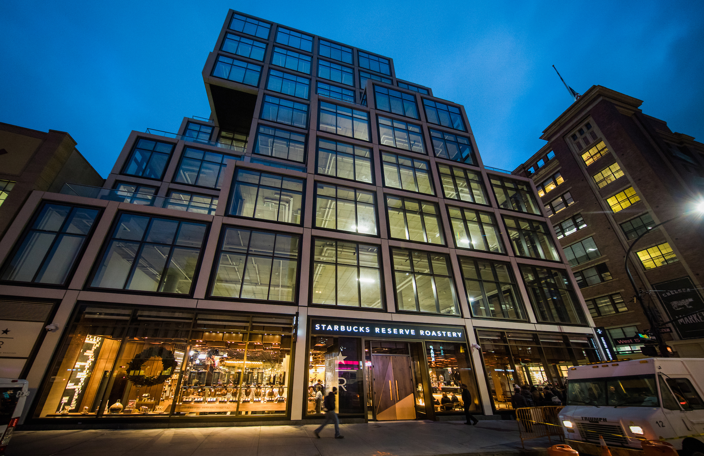 Starbucks Roastery Begins Its Unique New York State Of Grind