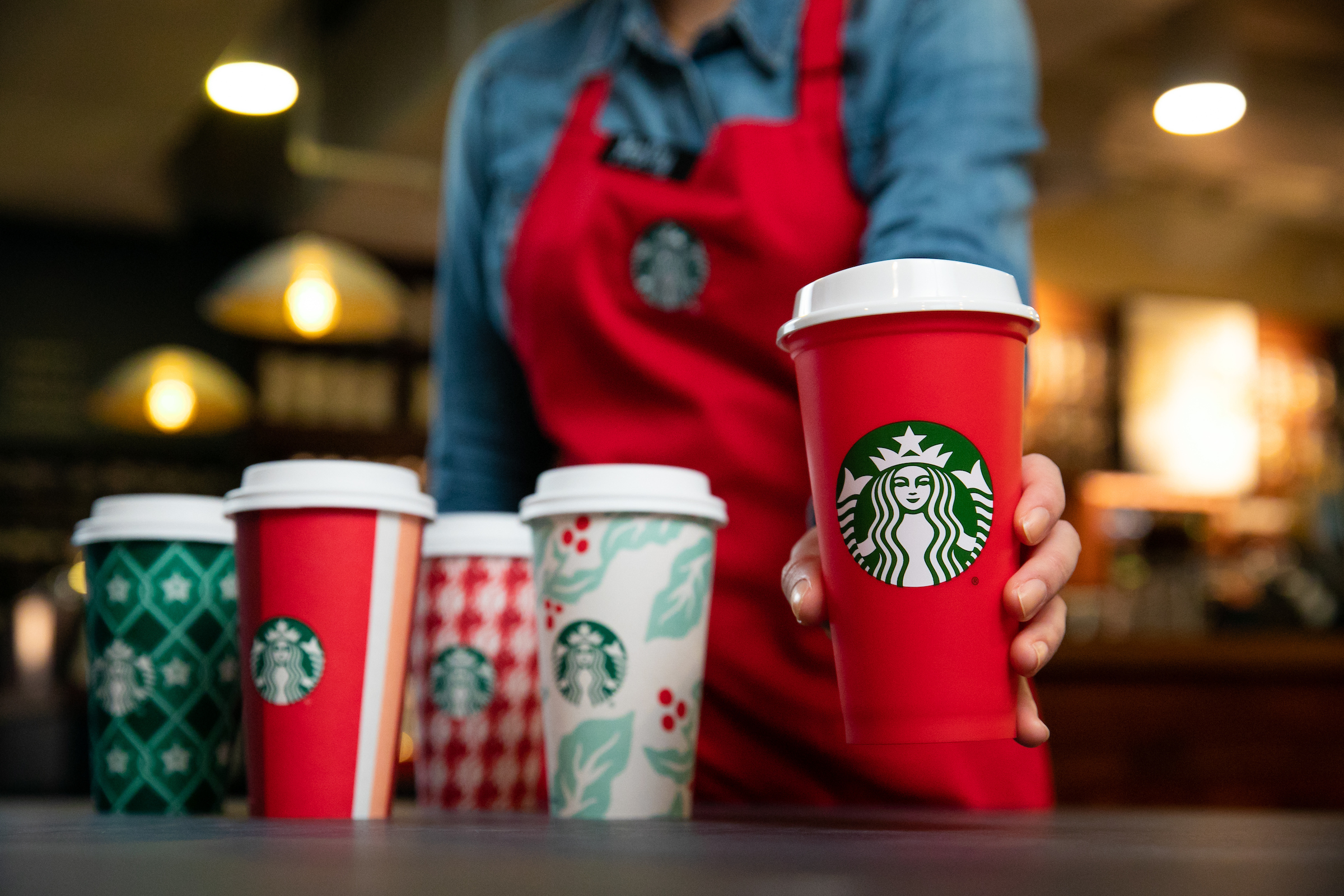 Christmas Blend Vintage 2020 Caffeine Holiday magic returns to Starbucks stores