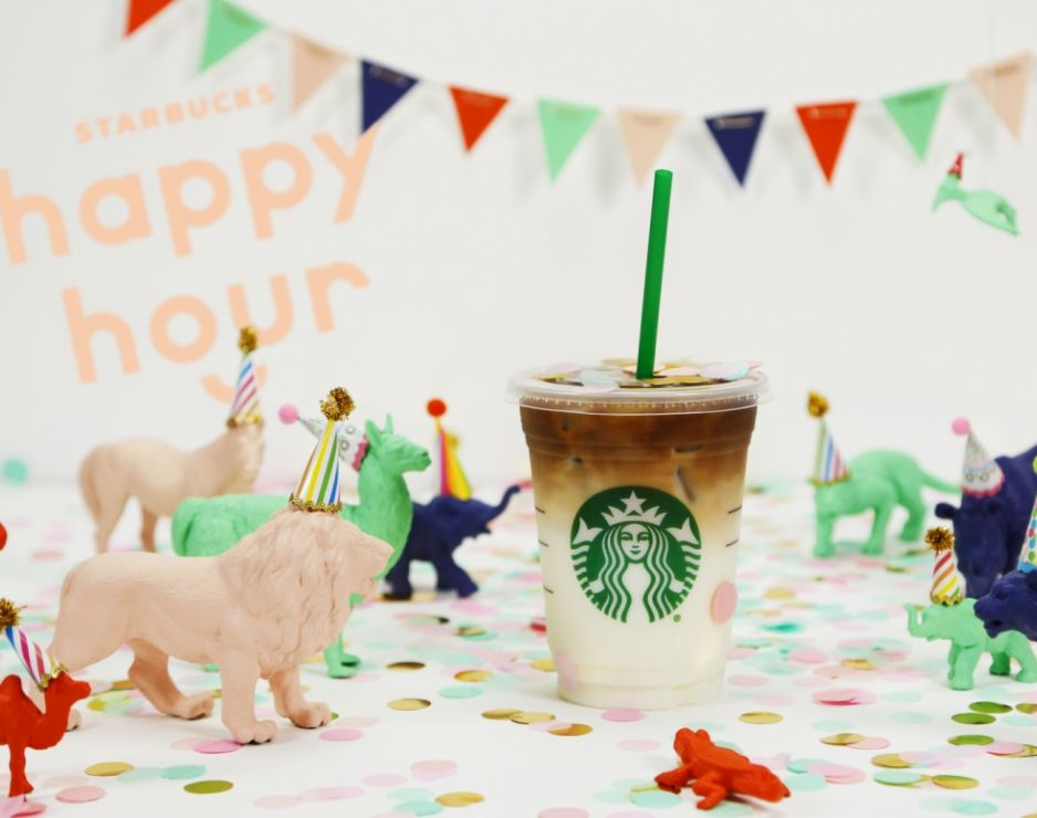 Happy Hour Returns to Starbucks