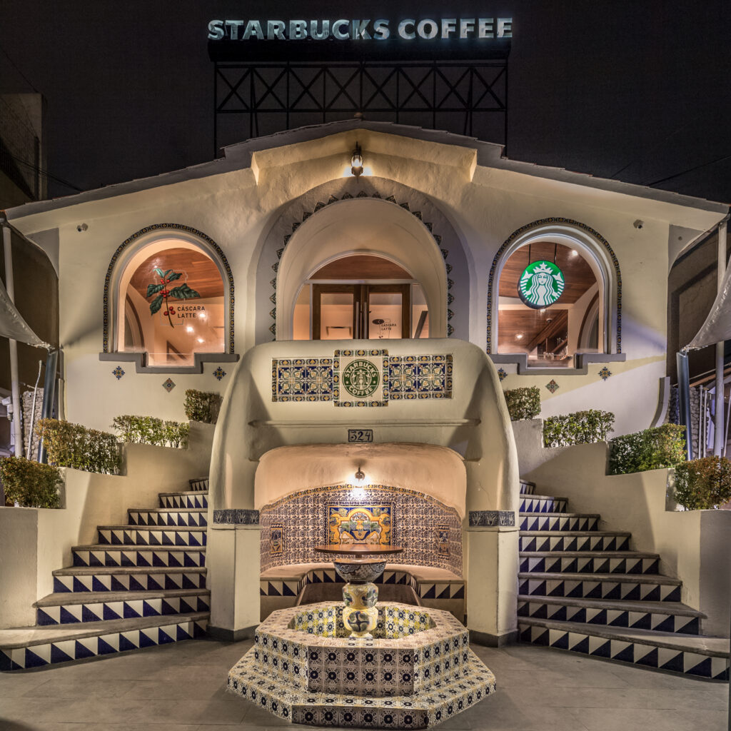 Beautiful starbucks