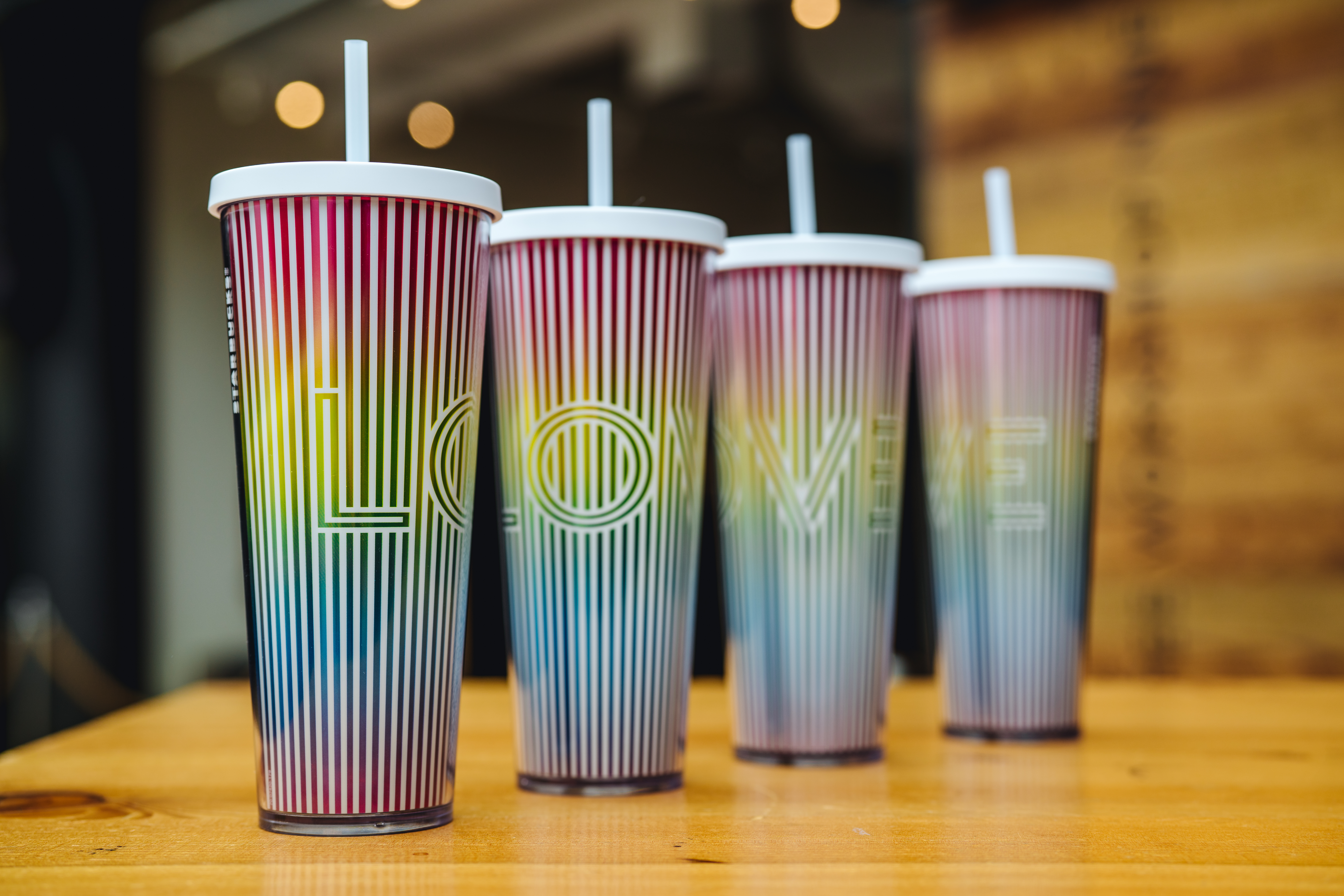 Love Meet The Designer Of The Starbucks Pride Cup People Are Buzzing About Starbucks Stories