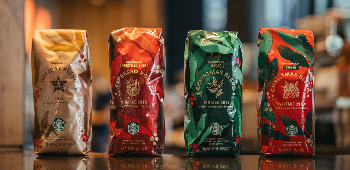 Starbucks Espresso Christmas Blend 2020 2019 Starbucks holiday coffee and pairings guide   Starbucks Stories