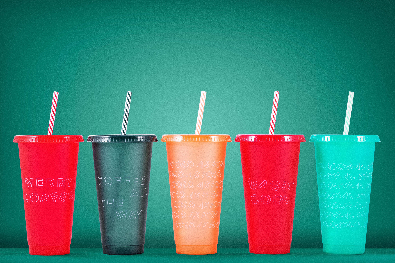 Christmas Cups Starbucks 2020 Starbucks unveils seasonal gifts and reusable cup sets   Starbucks