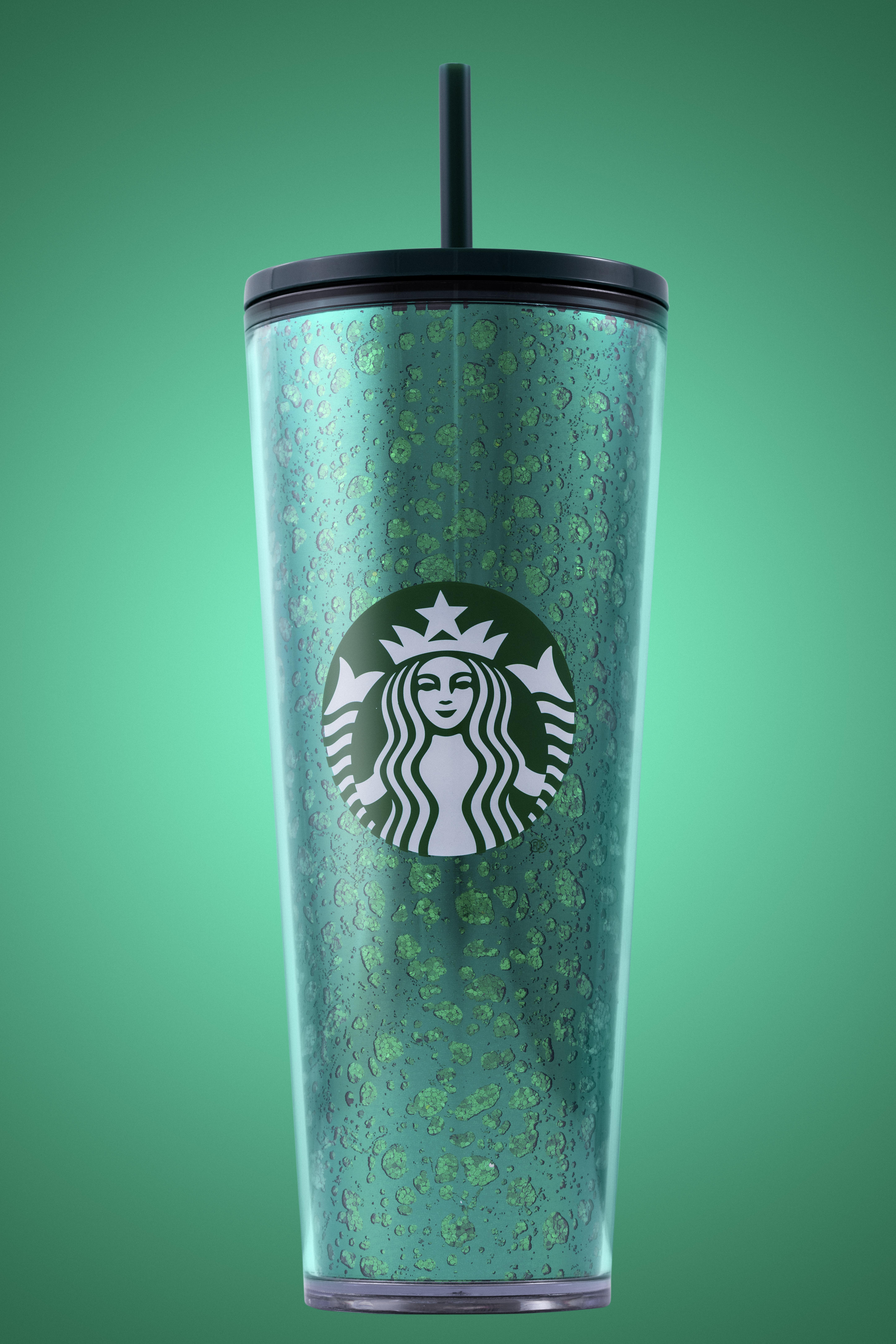 STARBUCKS 2020 Summer Theme Reusable Hot Cups 6 pack NEW