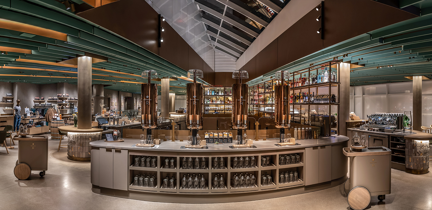Image result for world largest starbucks chicago first floor