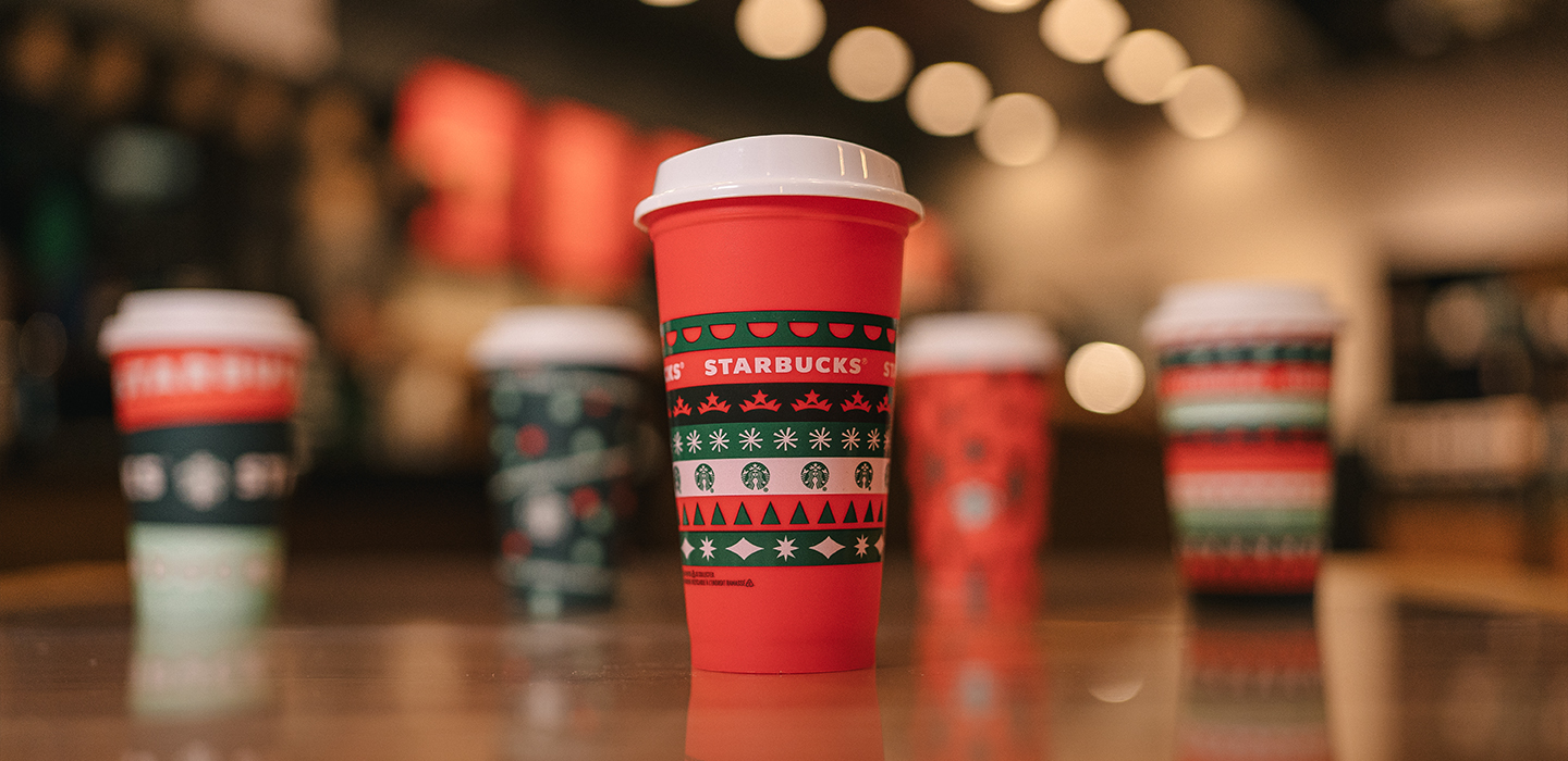 Our gift to you: Starbucks offers free collectible holiday cups on