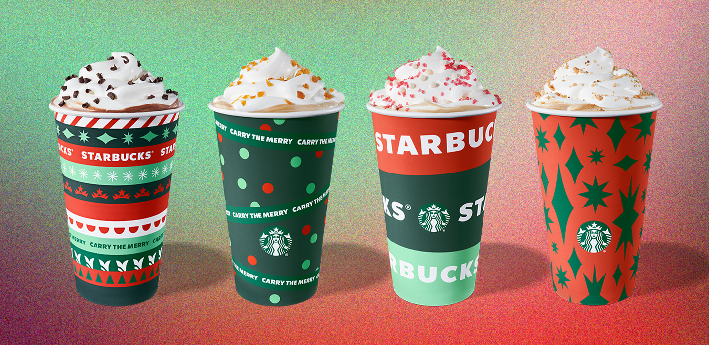 Savor the flavors of Starbucks holiday food and beverages