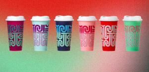 Starbucks Holiday 2020 Reusable 5 Pack Glitter Cold Cups Set