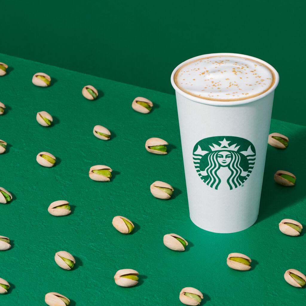 Starbucks Welcomes 2021 With the Pistachio Latte and More