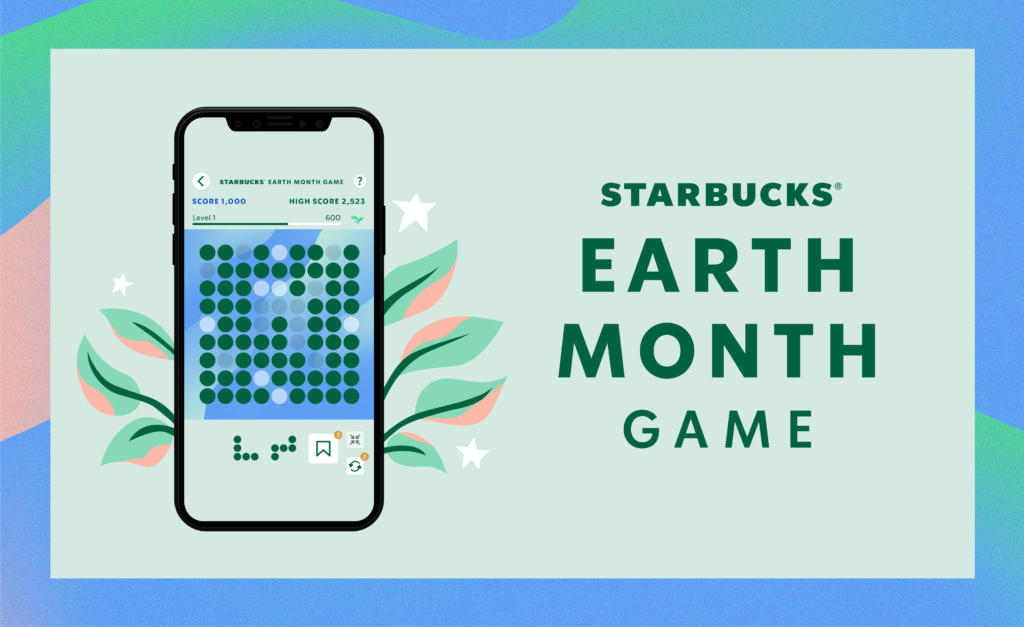 Starbucks Earth Month Game