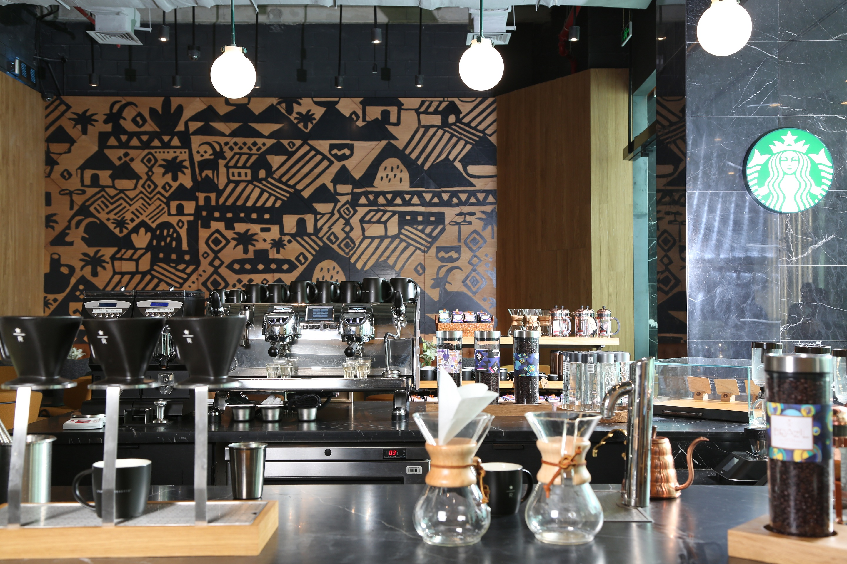 Starbucks Introduces Unique Store In Crystal Tower Kuwait