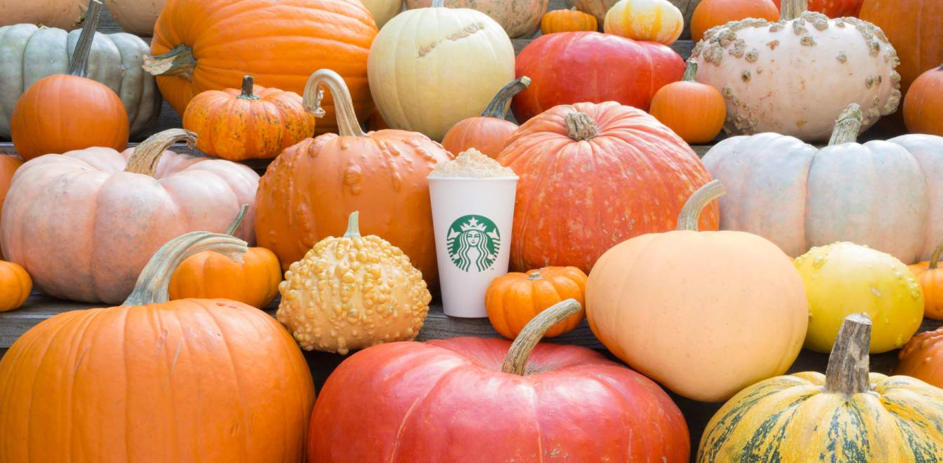 Risultati immagini per Pumpkin Spice Latte starbucks vegan