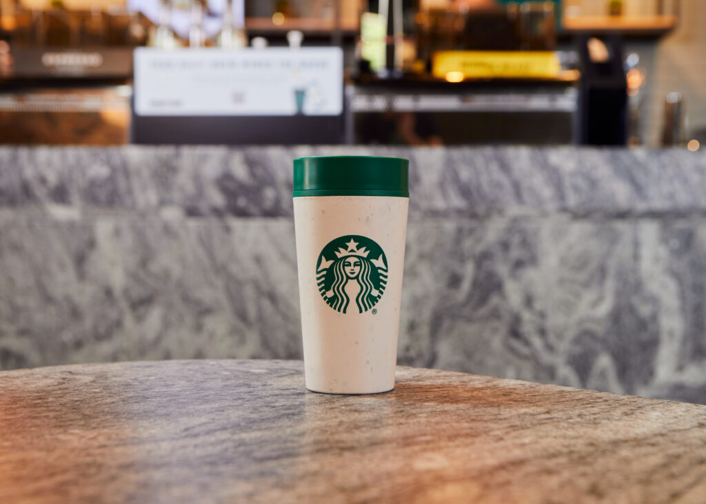 Starbucks Circular Cup A Reusable Cup Made From Recycled Coffee Cups Starbucks Stories Emea