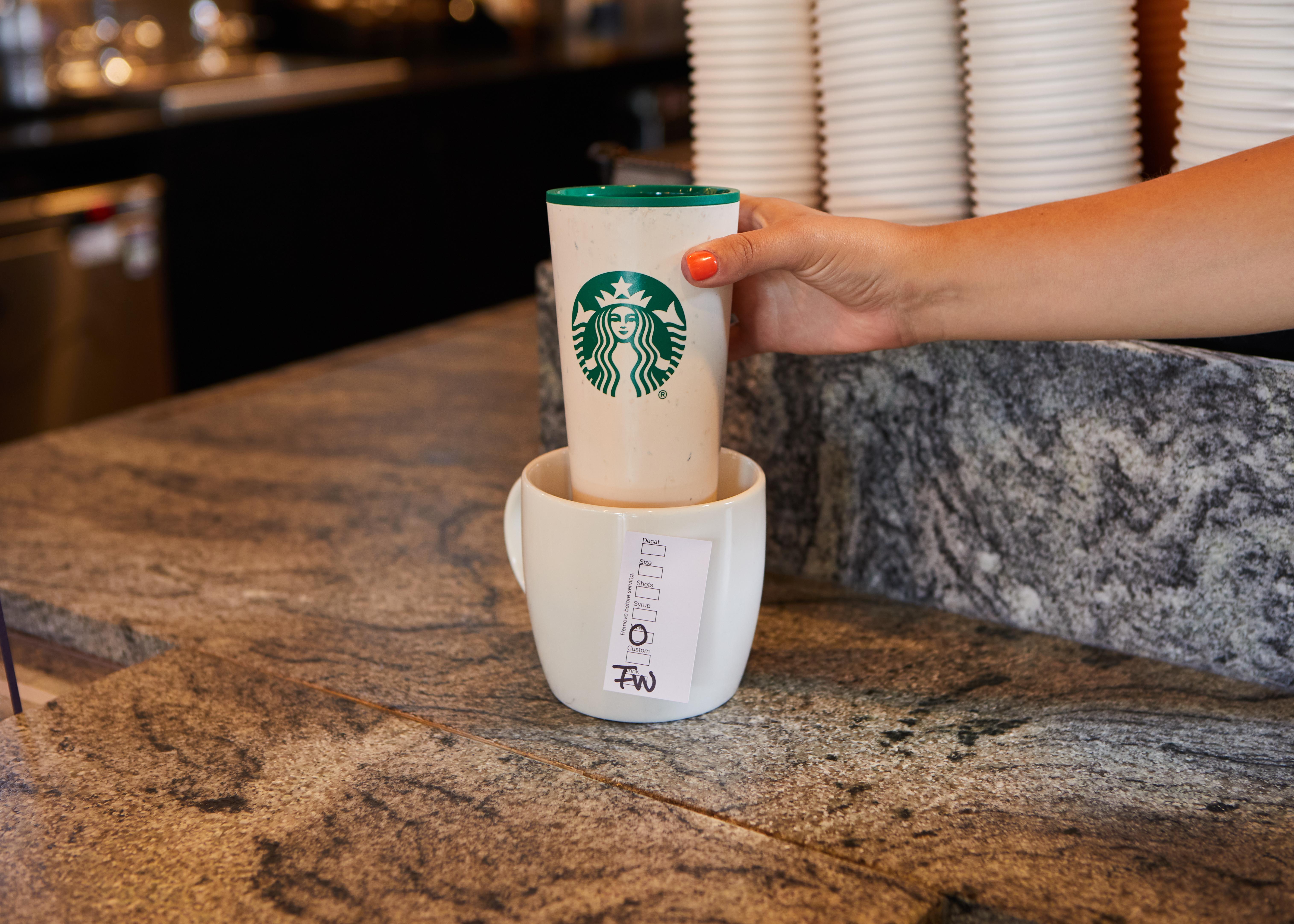 Starbucks Is Ready To Reintroduce Reusables Across Emea Starbucks Stories Emea