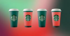 Starbucks Merry Mama Merry Mini Cold Cup Set