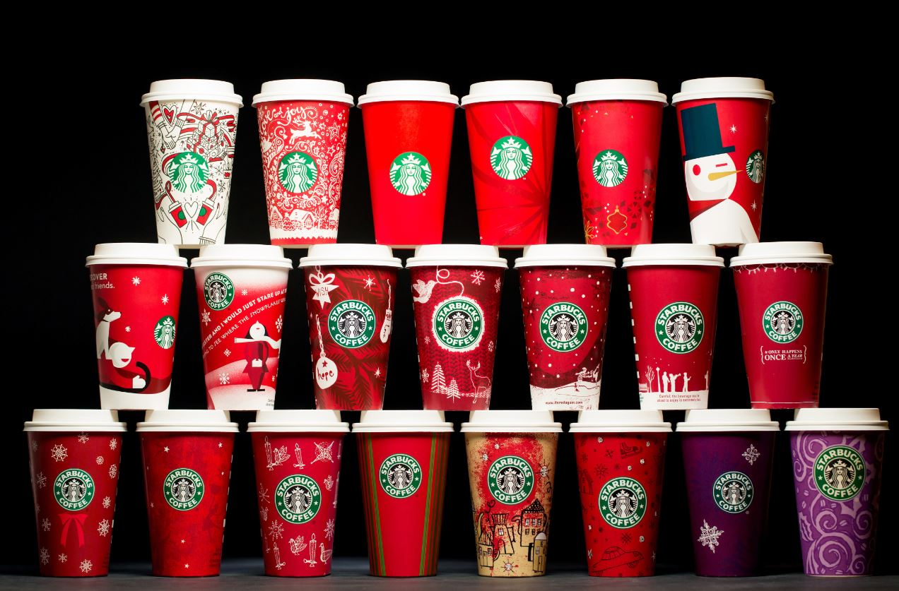 Starbucks Christmas Cups 2019.20 Years Of Starbucks Holiday Cups