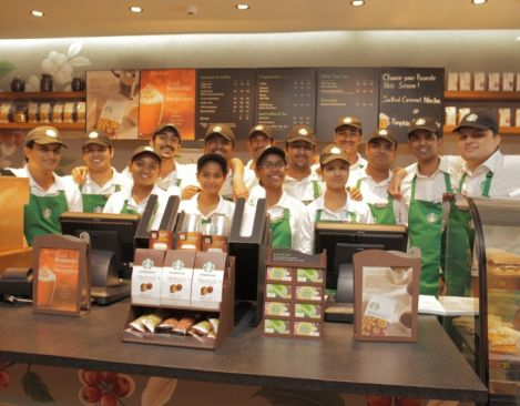 Starbucks Continues Expansion In India With Opening Of New