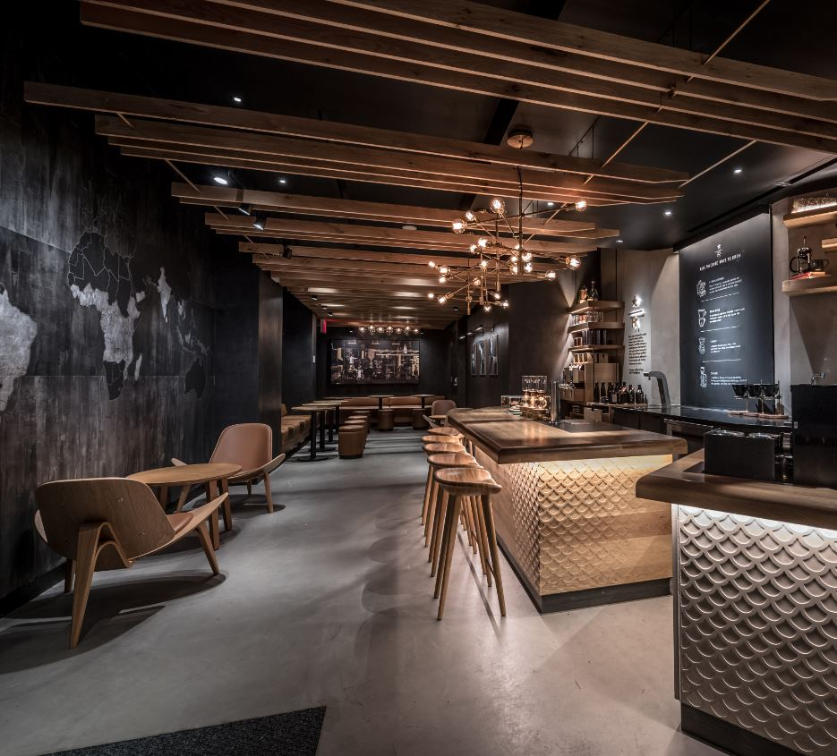 Shop Stores: Starbucks Reserve Coffee Takes Center Stage In New York