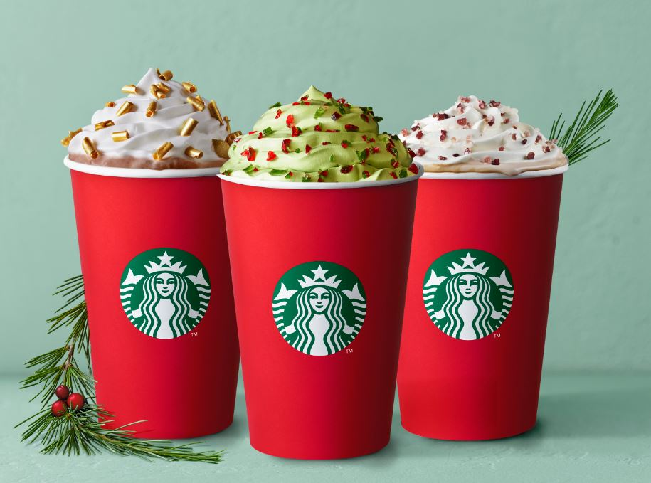 Christmas Starbucks Drinks 2019.10 Starbucks Holiday Beverages Around The World