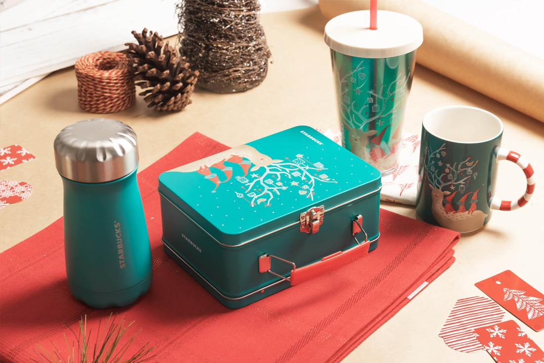Holiday Of GoldStarbucks Gifts SnowShimmer Sprinkle 354AjLR