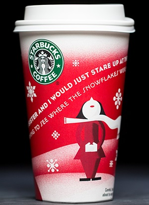 Starbucks Christmas Cups.20 Years Of Starbucks Holiday Cups