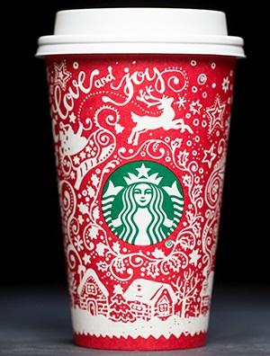 Starbucks Christmas Coffee Mugs.20 Years Of Starbucks Holiday Cups