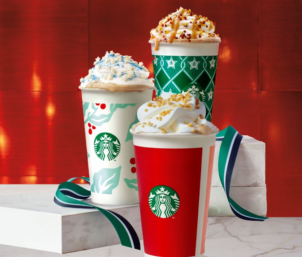Christmas Starbucks Drinks 2019.Starbucks Holiday Beverages Around The World