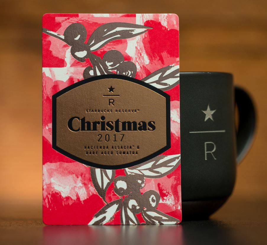 Starbucks Christmas Coffee.Juniper Latte Debuts At Starbucks Roastery Reserve Bars