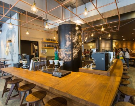 Coffee Takes Center Stage At The Longmen Starbucks In Taiwan