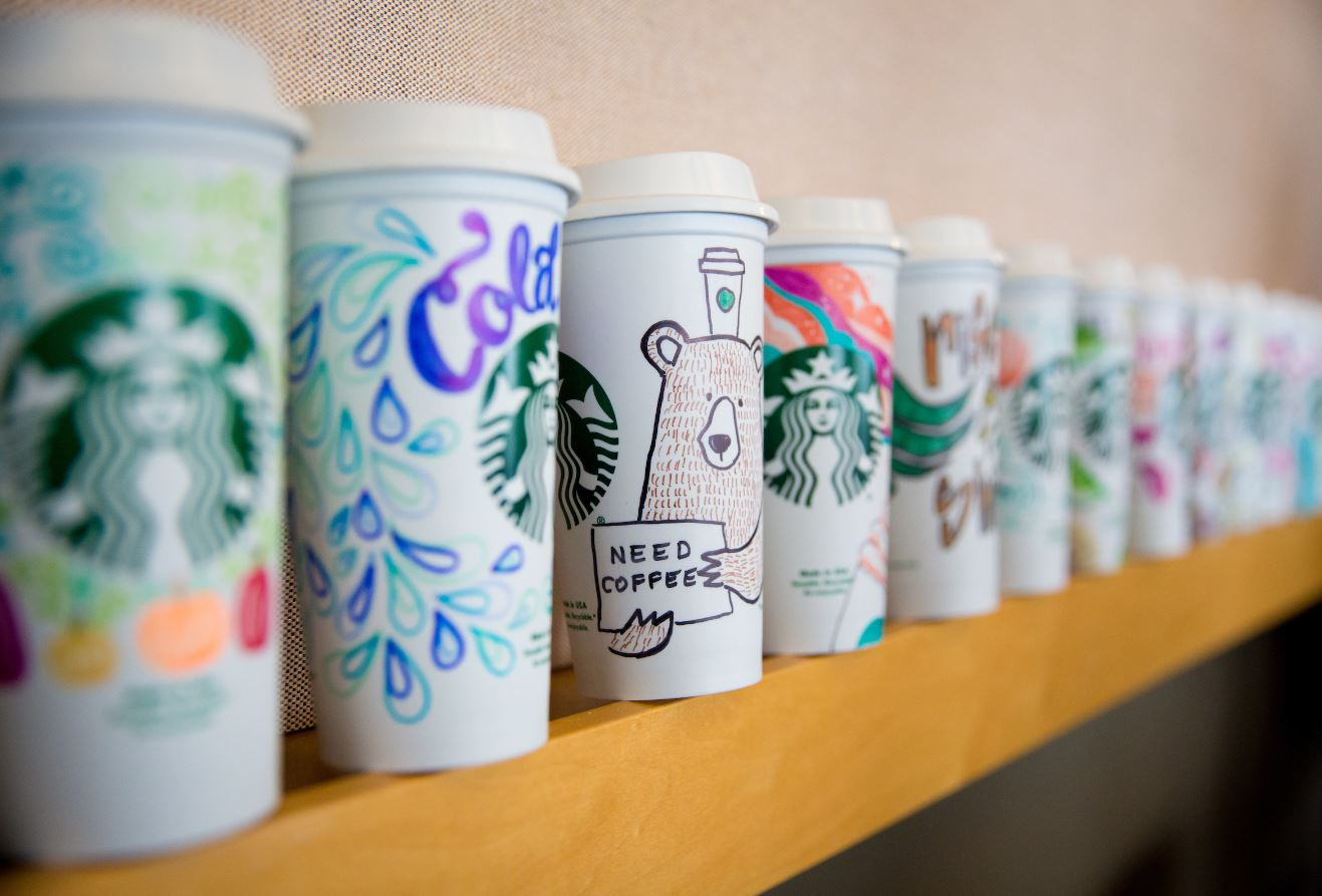 Starbucks Surprises Customers With Personalized Cups