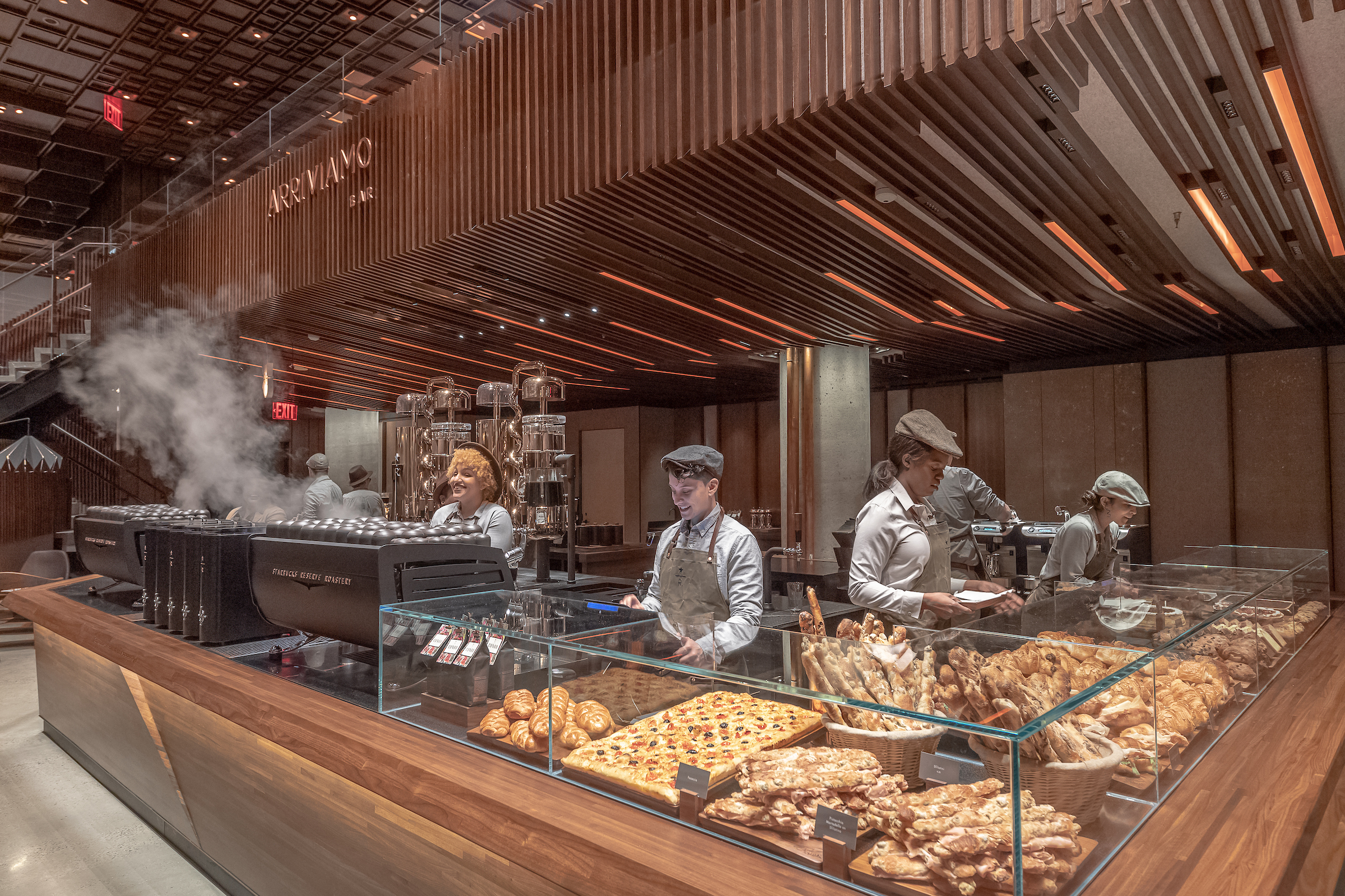 Starbucks Opens 23 000 Square Foot Roastery In Nyc