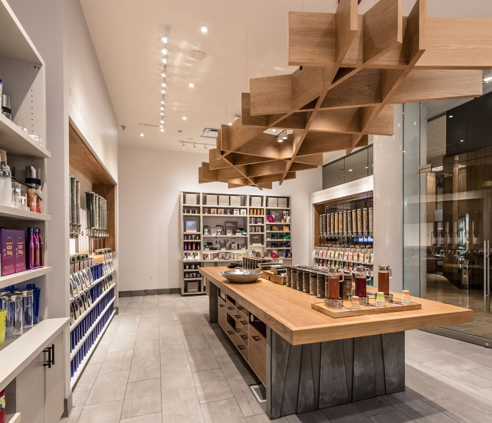 Teavana Store Design Offers An Atmosphere For Tea Discovery