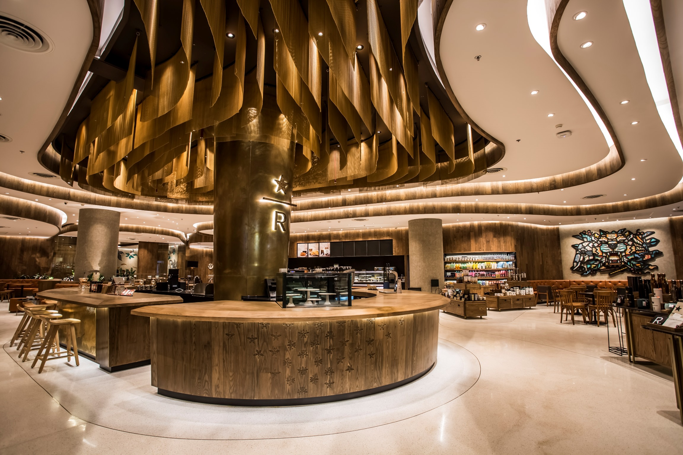 Starbucks Opens Reserve Bar Flagship Store In Thailand