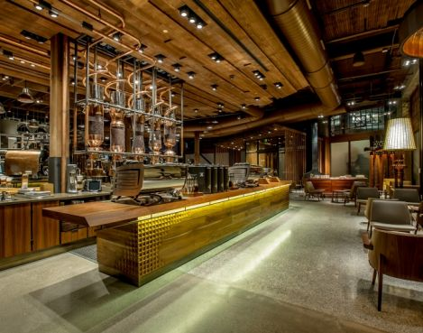 Debut Of Starbucks Reserve Roastery And Tasting Room In