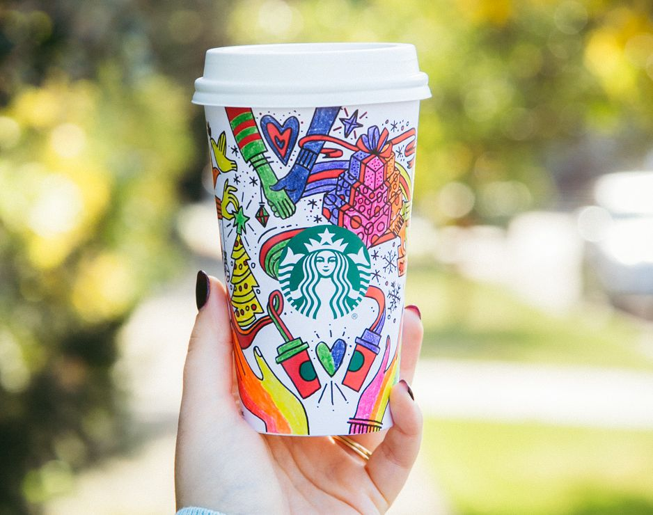 Starbucks Holiday Cup Comes With A Message To Give Good