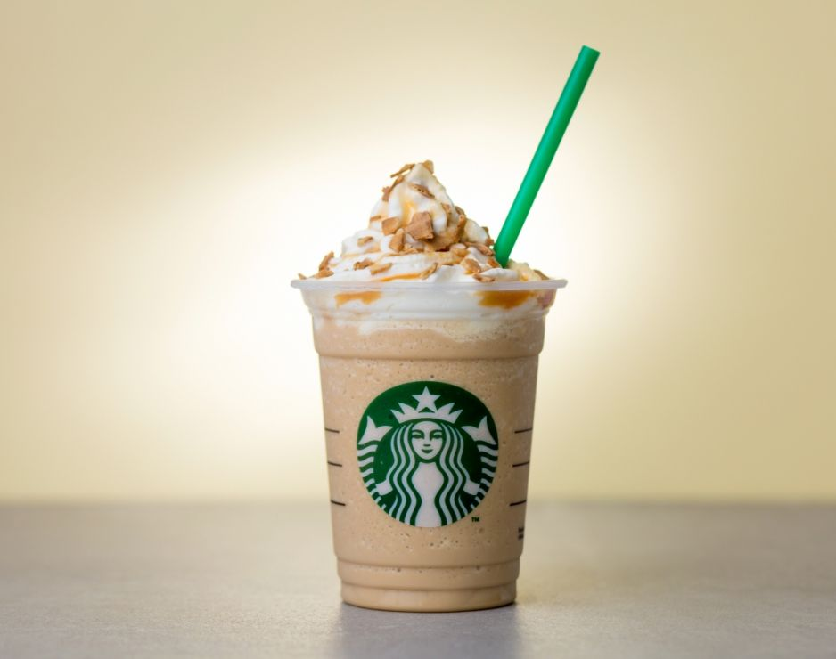 New Caramel Waffle Cone Frappuccino Added To Starbucks Menu