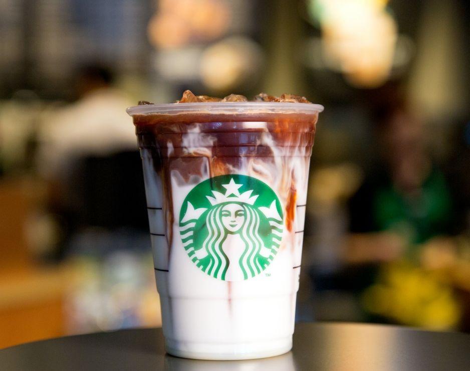 Starbucks First Iced Espresso Beverage With Coconut Milk